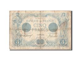 France, 5 Francs, 5 F 1912-1917 ''Bleu'', 1913, 1913-10-13, KM:70, TB, Fayett... - 1871-1952 Anciens Francs Circulés Au XXème