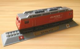 Glacier Express 1/160 Silverline Locomotive SLM HGe 4/4 II Diecast Switzerland - Model Railways