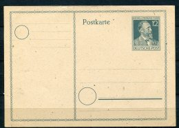 Germany 1947 Postal Stationary Card Unused 12 Of  Heinrich Von Stephan - American,British And Russian Zone