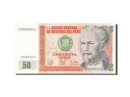 Pérou, 50 Intis, 1985-1991, 1987-06-26, KM:131b, NEUF - Pérou