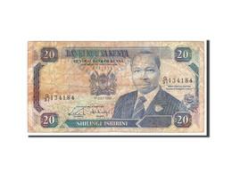 Kenya, 20 Shillings, 1989, 1989-07-01, KM:25b, B - Kenya