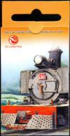 TRAINS-STAMPS BOOKLET-NARROW GAUGE STEAM LOCOMOTIVE-SRI LANKA-SCARCE-MNH-TP-72 - Trenes