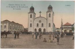 Postal Angola - Luanda - Guarda D´Honra No Dia 15 Agosto Na Sé Cathedral De Loanda - Carte Postale - Postcard - Angola