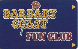 Barbary Coast Casino Las Vegas, NV - Slot Card  (BLANK) - Cartes De Casino