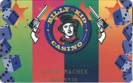 Billy The Kid Casino - Ruidoso Downs, NM - Slot Card With Small Logo - Long Web Adr - Casino Cards