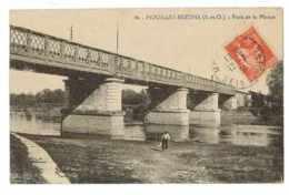 CPA 78 HOUILLES-BEZONS PONT DE LA MORUE - Houilles