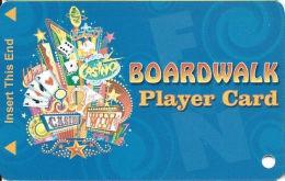 Boardwalk Casino Las Vegas, NV - Slot Card  (BLANK) - Casino Cards