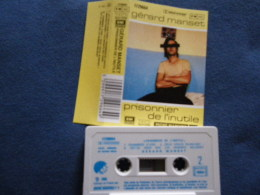 GERARD MANSET K7 AUDIO VOIR PHOTO...ET REGARDEZ LES AUTRES (PLUSIEURS) - Cassettes Audio