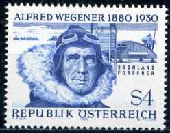 Österreich -  Michel 1660 - ** Postfrisch (D) - Alfred Wegener - 1945-.... 2ª República