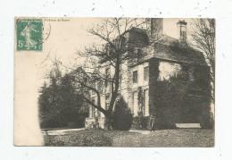 Cp  , 51 , Le Château De SARON , Voyagée - Other Municipalities