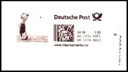 Bund / Germany: 'Internetmarke - Golf', 2016 / 'Internet Stamp' - Golf