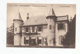 Cp , 63 , PONTGIBAUD , Château LE PINACLE , Vierge , Ed: Gouttefangeas - Frankreich