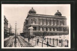 CPA Belgrade, L'ancien Palais Royal En Hiver - Serbia