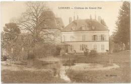 LORMES: CHATEAU DU GRAND PRE - Lormes