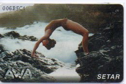 Aruba Biento Setar Sport Télécarte Phonecard W200 - Aruba
