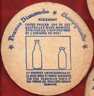 Sous-bock - Champigneulles Et France-Dimanche - Gagnez Une Montre En Participant Au Concours......... - Sous-bocks