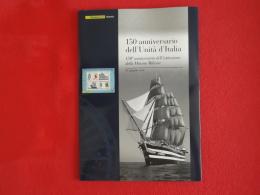 Italia Italy Italie Folder 2011 Marina Militare 150° Valutazione Catalogo 2012 € 37,50 Prezzo Copertina € 25,0 - 6. 1946-.. Republic