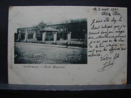 CP. 1578. Quiévrain. Ecole Moyenne - Quiévrain