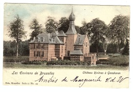 GANSHOREN - Les Environs De Bruxelles - Château Rivièren à Ganshoren - Ed. Nels, Bruxelles, Serie II No. 49 - Ganshoren