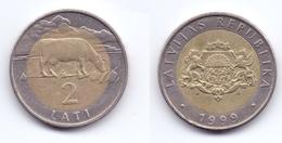 Latvia 2 Lati 1999 - Letonia
