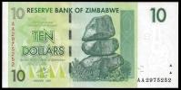Zimbabwe 10 Dollars 2007 P 67 UNC ( Zimbabue  ) - Zimbabwe