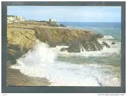 85 ST HILAIRE Sur MER ... LA Grande Cote Par Mer Houleuse ... (cpsm) - Saint Hilaire De Riez