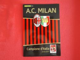 Italia Folder 2011 Milan Campione D' Italia Catalogo 2012 € 30,00 Prezzo Copertina € 20,00 - 6. 1946-.. Republic