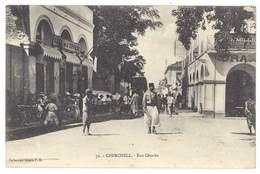 Cpa Algérie, Cherchell - Rue Césarée - Algérie