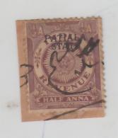 PATIALA  State  1A  O/p  REVENUE  Type 17  # 91465 Inde Indien  India Fiscaux Fiscal Revenue - Patiala