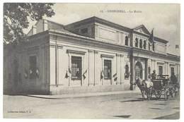 Cpa Algérie, Cherchell, La Mairie ( Attelage ) - Algérie