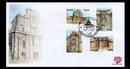 Malta 2012 First Day Cover - Treasures Of Malta - Historic Gates - Malta