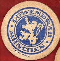 Sous-bock - Lowenbrau Munchen - Made In Germany - Sous-bocks