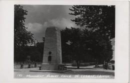 Carte Photo CANADA LACHINE Monument Robert  De Lasalle - Unclassified