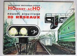 Catalogue Publicitaire HOrnby AcHO 28 Réseaux Meccano Couverture Rabet - Francés