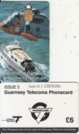 GUERNSEY ISL. - Rescue Services/Ambulance Launch(small CN), Tirage %17000, Used