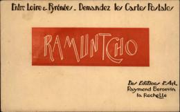 CARTES POSTALES - Publicité Pour Les Editions RAMUNTCHO - Publicités