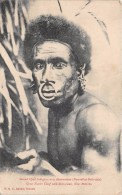 ¤¤  -     NOUVELLES-HEBRIDES   -  Grand Chef Indigène Avec Décorations   -   ¤¤ - Vanuatu