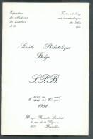 Société Philatélique Belge, Exposition Des Collections Des Membres 6 Avril Au 10 Avril 1981 - Philatelie Und Postgeschichte