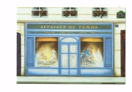 Illustration - Magasin TAILLEUR COUTURIER Robes - Affaires De Femme - Fernando Da Cunha - - Shopkeepers