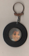 Sheila   Porte Clé  Original Des Années 60   Disque + Photo - Badges