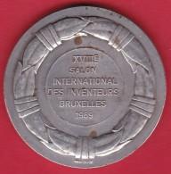 Belgique - Médaille Bruxelles 1969 XVIIIe Salon Des Inventeurs - Bronze - Professionals / Firms