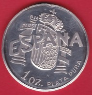 Espagne - Médaille Juan Carlos Y Sofia - Argent - Monarquía/ Nobleza