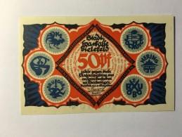 Allemagne Notgeld Bielefeld 50 Pfennig 1921 NEUF - [ 3] 1918-1933 : République De Weimar