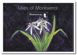 Montserrat 2007, Postfris MNH, Flowers - Montserrat