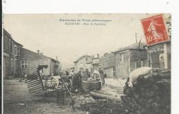 Ecrouves  Rue Du Faubourg   Fontaine  Lavoir  Laveuses - France