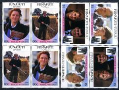 1986 - FUNAFUTI - TUVALU - Catg. Mi.  76/80 - NH - (CW BLOCK147) - SARA E ANDREW - Tuvalu