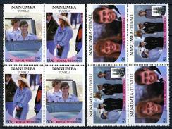 1986 - NANUMEA - TUVALU - Catg. Mi.  84/87 - NH - (CW BLOCK147) - SARA E ANDREW - Tuvalu