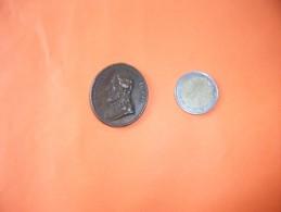 """Ancienne Médaille Pour """"mater Divinale Gratiae """" """"salvator Mundi"""" Legere Trace Oxydation, Trace De Beliere - Non Classés"""