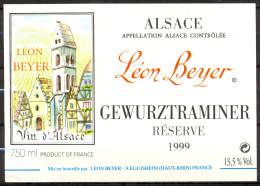 403 - Gewurztraminer - 1999 - Réserve Léon Beyer - Eguisheim Haut Rhin - Gewurztraminer