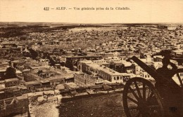 Alep - Vue Générale Prise De La Citadelle - Siria